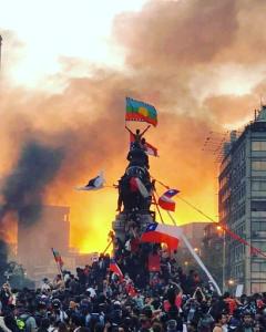 Resultado de imagen para chile Protestas sin forma o nuevas formas de organización?