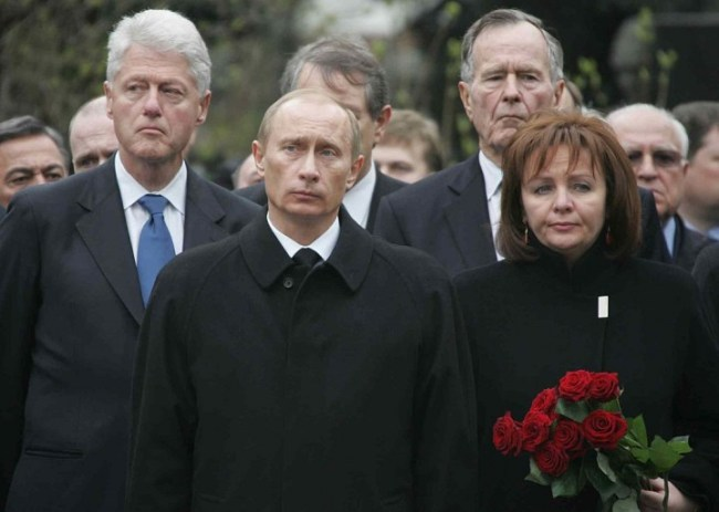Funeral of Yeltsin Image Presidential Press and Information Office