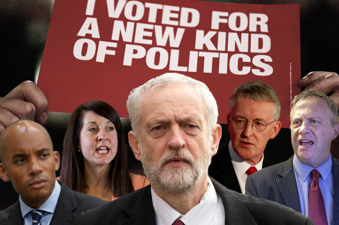 Blairites v Corbyn