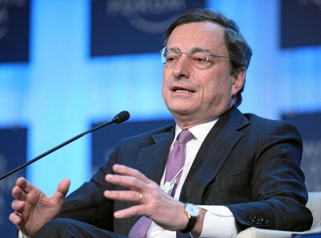 Mario Draghi Image World Economic Forum