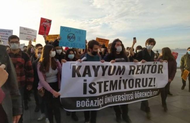 Bogazici university protest Image bianet