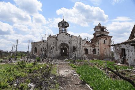 Chruch bombed Image Mstyslav Chernov