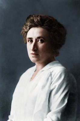 Rosa Luxemburg Image Cassowary Colorizations Flickr