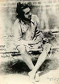 Bhagat Singh in jail at the age of 20