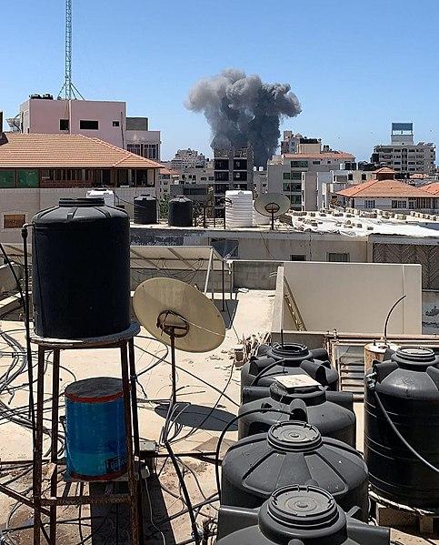 The Israeli bombing of Gaza Image Osps7