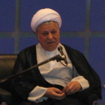 Akbar Hashemi Rafsanjani, President of the Islamic Republic of Iran from 1989 to 1997. Photo by Mesgary.