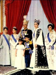 Mohammad Reza Shah Pahlavi and his wife, Empress Farah, in 1967