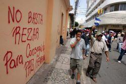 Marcha de Frente Nacional de Resistencia Contra el Golpe de Estado, 10 de Agosto. Foto: indymedia Chiapas.