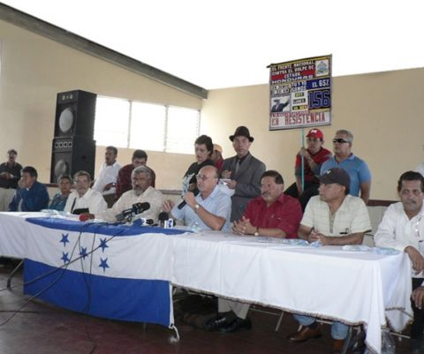 Honduran elections - Little fingers up: We didn't vote!