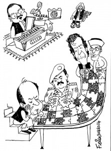 pakistan political crisis cartoon