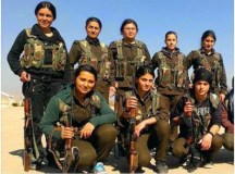 کوبانی کی فاتح جنگجو خواتین