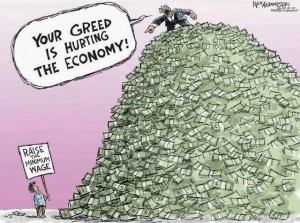 greedy capitalist