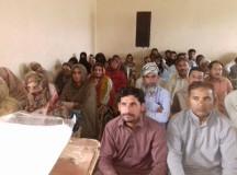 participants in anti privatization seminar