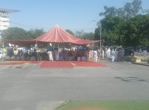 2nd day Punjab teachers sit-in protest against Privatization 00