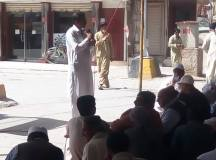 Quetta-Young Doctors & Paramedics Sit-in Protest 05