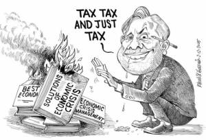pakistan-indirect-taxing-ishaq-dar-cartoon