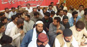 Balochistan Development Authority Protest Camp 02