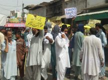 Kallur kot - Protest and Rally against loadshedding (3)