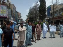 Quetta-Bolan Medical College Students Protest in Solidarity with Young Doctors and Paramedical Staff 01
