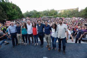 Unidos Podemos closing rally
