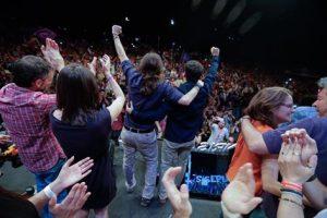 Unidos Podemos closing rally Madrid