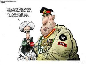 Taliban & Pak Army Connections Cartoon