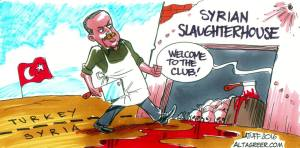 Erdogan Military Intervention in Syria - Latuff
