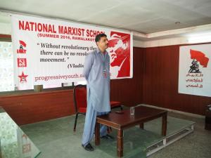 Yasir Irshad Opening the School