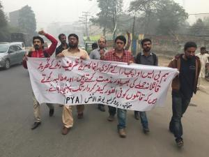 pya-lahore-protest-against-attack-on-bso-pajjar-central-organizer-zareef-rind-house-4