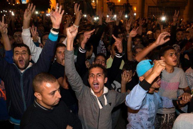 morocco-protest
