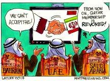قطر تنازعے کے اصل محرکات