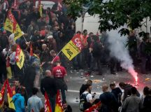 فرانس: ریل مزدوروں کی ہڑتال