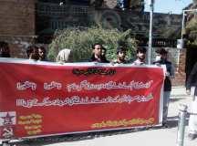 کوئٹہ: گوادر میں مزدوروں کے قتل عام اور پنجگور میں خواتین کیساتھ رونما ہونے والے واقعات کیخلاف احتجاج!