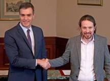 پابلو اگلیسئیس(UP) اور پیڈرو سانچیز(سوشلسٹ پارٹی)