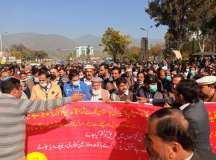 اسلام آباد: آل گورنمنٹ ایمپلائز گرینڈ الائنس کے زیر اہتمام 12 جنوری کو احتجاج اور مستقبل کا لائحہ عمل