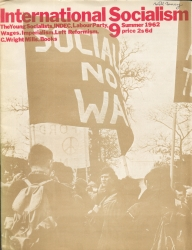 Front cover International Socialism (1st series), No.9