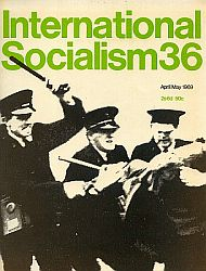 Cover International Socialism (1st series), No.36