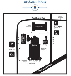 download view a map of the basilica campus  [ 1275 x 1650 Pixel ]
