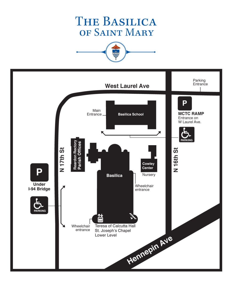 medium resolution of download view a map of the basilica campus