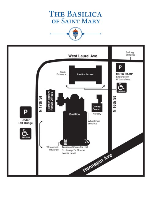 small resolution of download view a map of the basilica campus