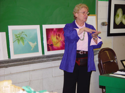 Mary Ahern lectures on Fine Art, Botanical Illustration and the Business of Art