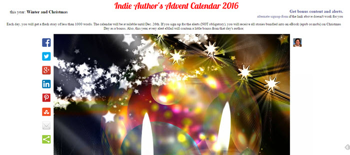 Indie Authors Advent Calendar