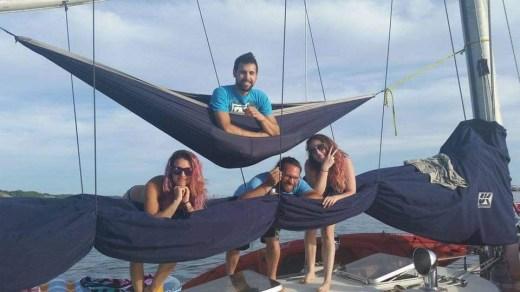 hammocking on Tipsy!