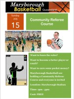 Community Referee Course - Saturday 15 July - 1pm to 5pm
