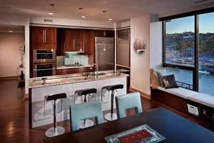 downtown condo Mary Cerrone Architecture & Interiors Pittsburgh