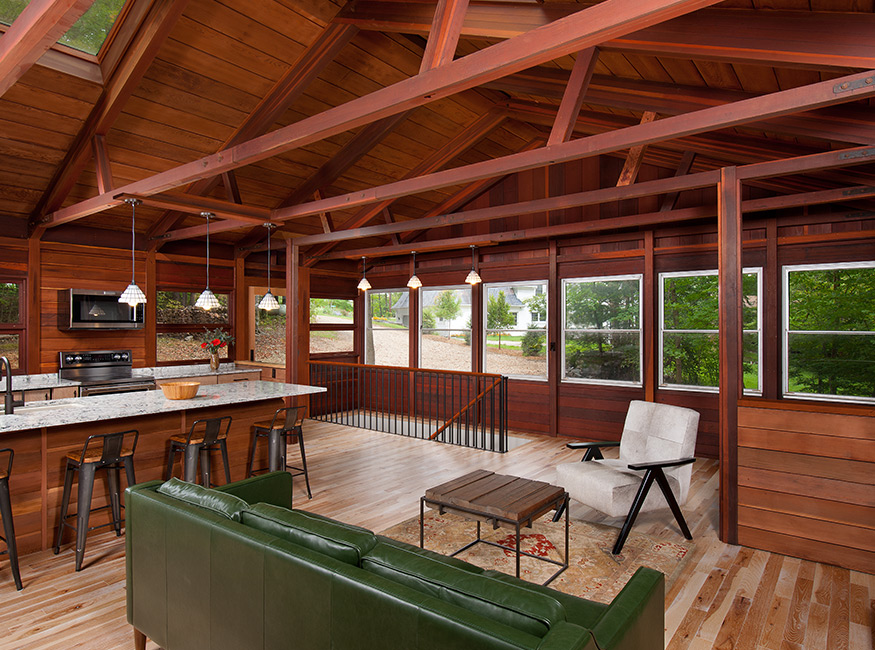 redwood-cabin-kitchen-living-room-mary-cerrone-architect