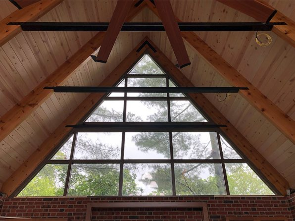 Pool House, Main Porch Ceilingr, Mary Cerrone Architect, Pittsburgh, PA,