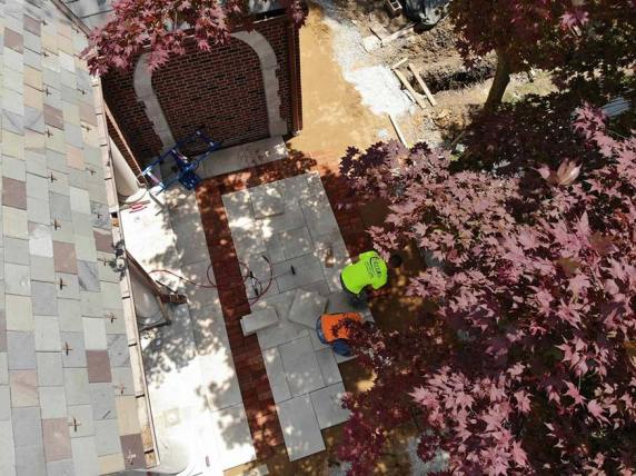 Pool House, Patio Pavers, Mary Cerrone Architect, Pittsburgh, PA,