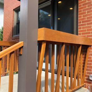back porch planter box detail Mary Cerrone Architecture & Interiors Pittsburgh