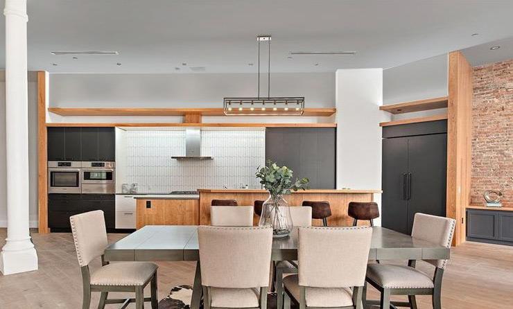 downtown loft Mary Cerrone Architecture & Interiors Pittsburgh
